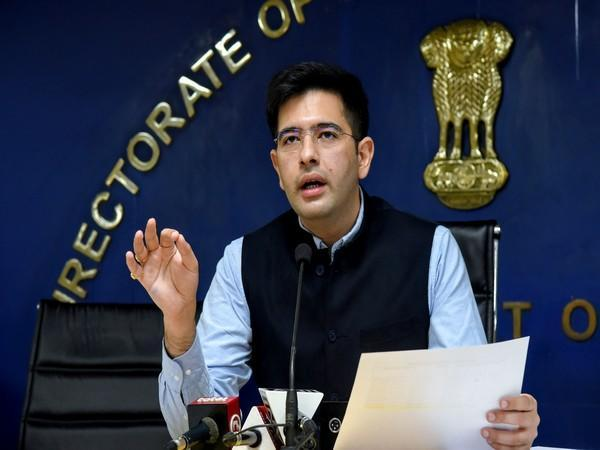 Raghav Chadha, the Chairman of the Peace and Harmony Committee of Delhi Assembly (File photo)
