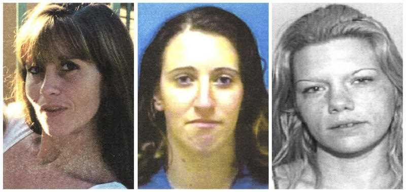 Kimberly Dietz-Livesey, Sia Demas and Jessica Good are pictured.