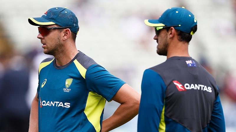 Josh Hazlewood and Mitchell Starc were left out of Australia's XI in the first Test.