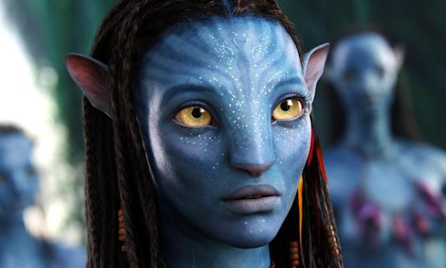 Zoe Saldana in Avatar. (Fox)