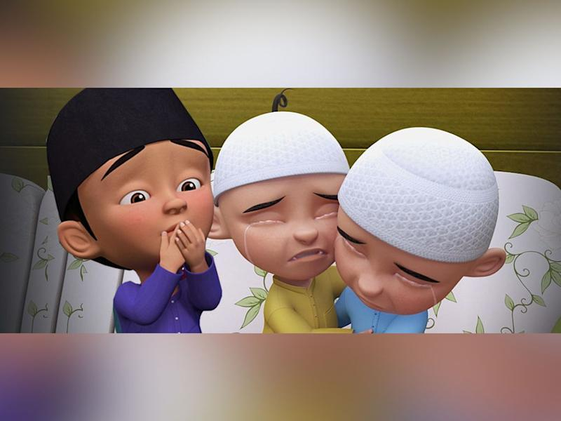 One of the scenes in the Syahdunya Syawal episode
