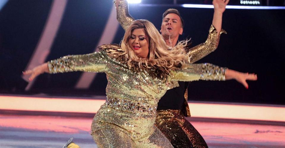 Gemma Collins has confirmed that she will return to Dancing On Ice for the final (ITV)