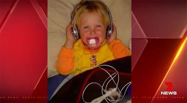 Two-year-old Nikki Francis-Coslovich. Source: 7News