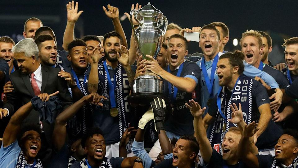 Sporting KC won the U.S. Open Cup, which still not enough people care about. (Goal.com)