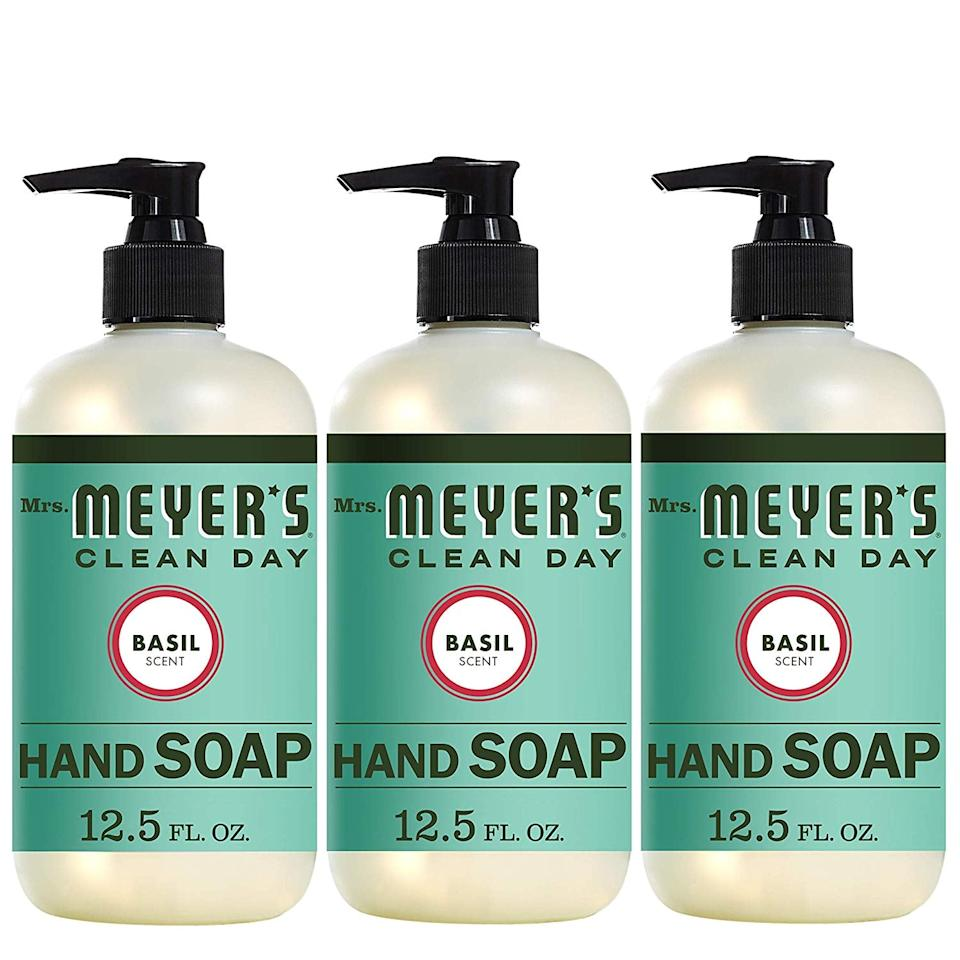 """<p>Keeping your tattoo clean during the process is vital to avoid infection, so make sure to wash your hands with a soap like <a href=""""https://www.popsugar.com/buy/Mrs-Meyers-Clean-Day-Hand-Soap-403776?p_name=Mrs.%20Meyers%20Clean%20Day%20Hand%20Soap&retailer=amazon.com&pid=403776&price=10&evar1=bella%3Auk&evar9=45725989&evar98=https%3A%2F%2Fwww.popsugar.com%2Fbeauty%2Fphoto-gallery%2F45725989%2Fimage%2F45725995%2FKeep-Your-Hands-Clean&list1=tattoos%2Cbeauty%20how%20to%2Cbeauty%20trends%2Cbeauty%20interview&prop13=api&pdata=1"""" rel=""""nofollow"""" data-shoppable-link=""""1"""" target=""""_blank"""" class=""""ga-track"""" data-ga-category=""""Related"""" data-ga-label=""""https://www.amazon.com/Mrs-Meyer%C2%B4s-Clean-Day-Basil/dp/B00MH8R7IG/ref=sr_1_12_a_it?ie=UTF8&amp;qid=1546971369&amp;sr=8-12-spons&amp;keywords=hand+soap&amp;psc=1"""" data-ga-action=""""In-Line Links"""">Mrs. Meyers Clean Day Hand Soap</a> ($10 for a pack of three) before touching your new ink. """"Imagine touching a subway pole that countless others have touched and licking your hand - ew. Now imagine you touch your tattoo with that subway pole hand,"""" said Santana.</p>"""