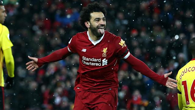 Mohamed Salah and Liverpool are not daunted by their Champions League quarter-final showdown with Manchester City.