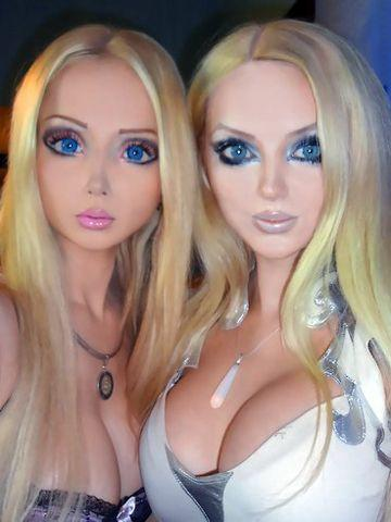 The real life Barbie twins. Credit: Facebook