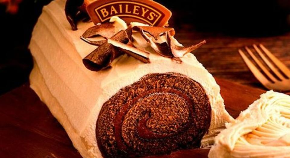 Baileys yule log is back for another year (Baileys)