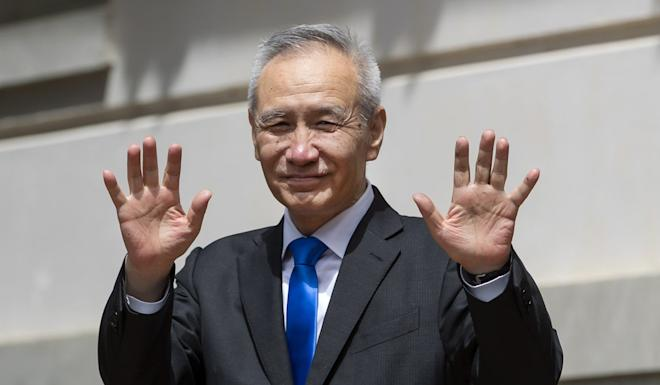 China's Vice-Premier Liu He spoke to his US counterparts over the telephone on Thursday. Photo: EPA