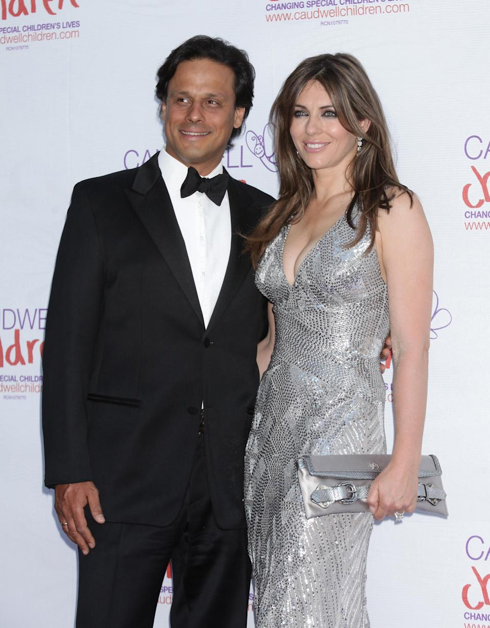 Hurley was married to Nayar from 2007-2011. (PA Images)