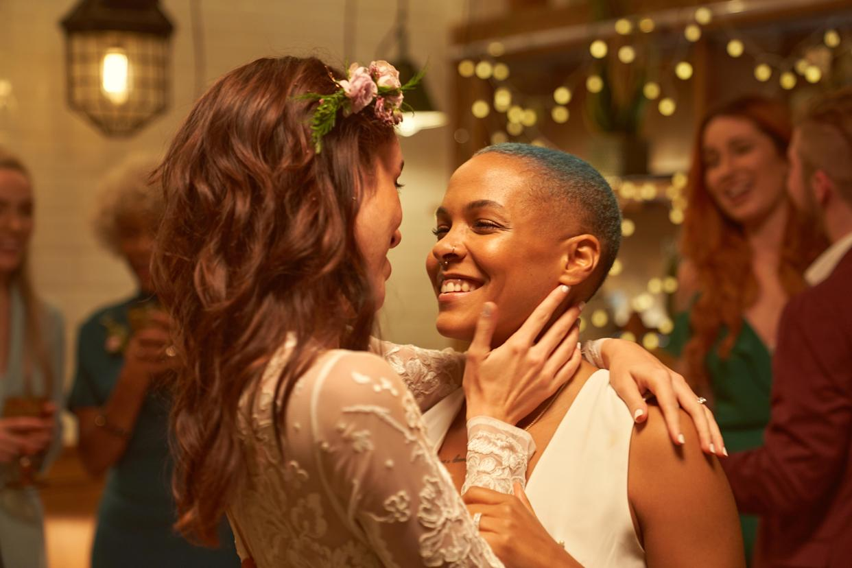 Coronavirus restrictions have kicked off a rise in micro weddings. (Getty Images)