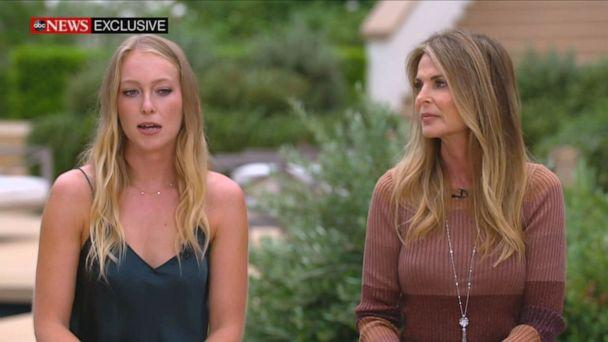 PHOTO: India and Catherine Oxenberg sat down for an exclusive interview on 'Good Morning America.' (ABC News)