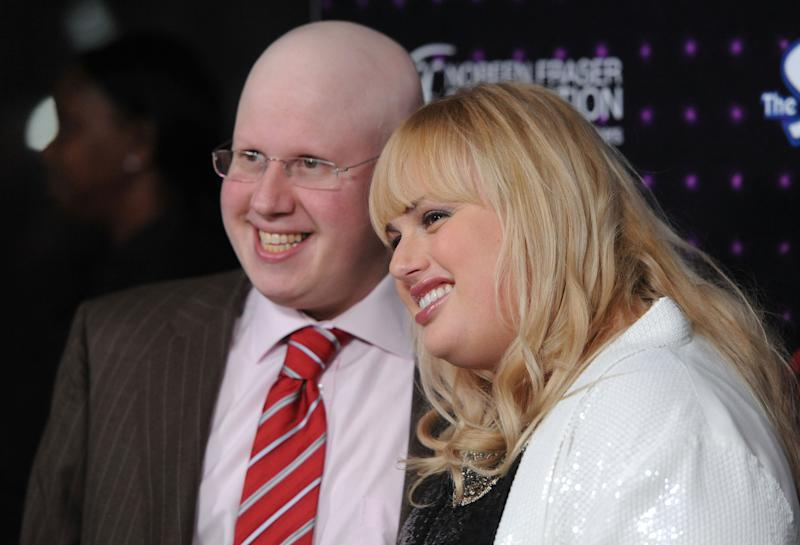 Matt Lucas and Rebel Wilson at Variety's Power of Comedy event in 2010 – back when they were housemates