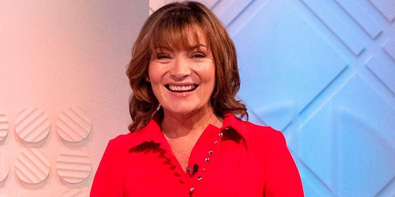 3352141c Lorraine Kelly's super flattering red dress is perfect for Christmas
