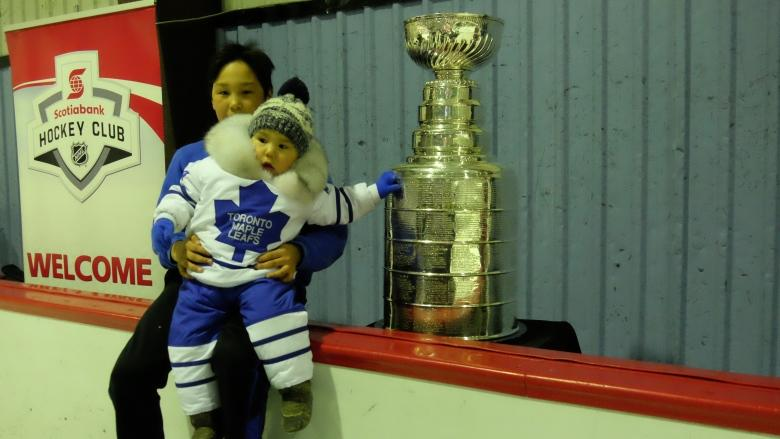 Stanley Cup makes stop in Iqaluit as Project North's Nunavut tour kicks off