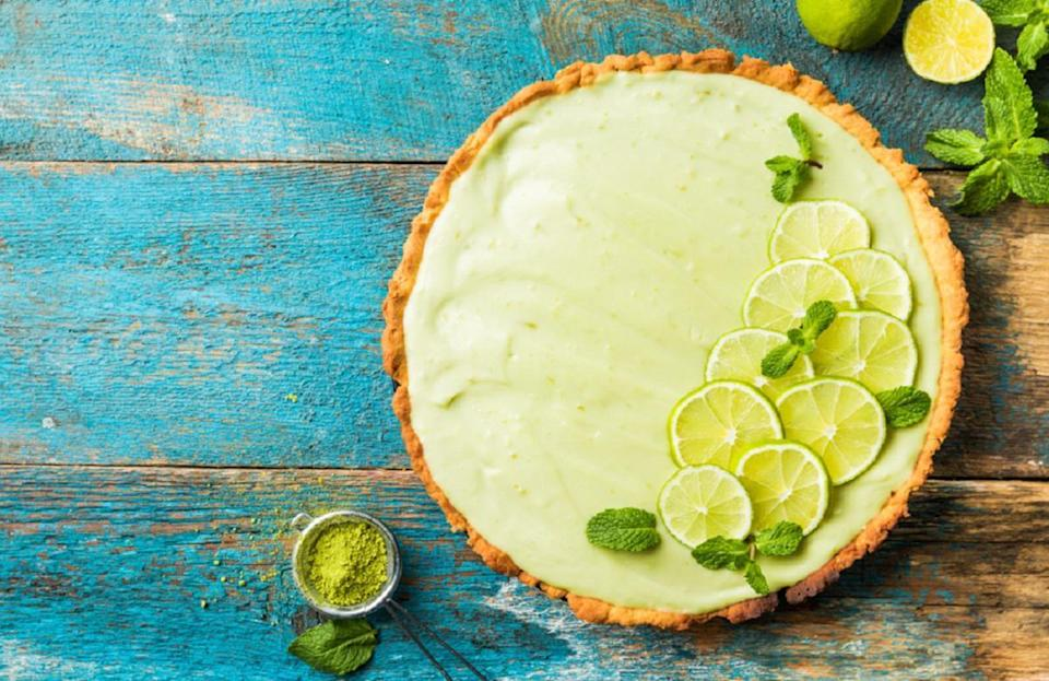 "<p>In 2006, Florida declared key lime pie its official state dessert. With a graham cracker crust, tangy Key lime custard and sweetened whipped cream, Key lime pie is a legendary Floridian dessert. Try making the <a href=""https://www.thedailymeal.com/cook/insanely-easy-instant-pot-breakfast-recipes-slideshow?referrer=yahoo&category=beauty_food&include_utm=1&utm_medium=referral&utm_source=yahoo&utm_campaign=feed"" rel=""nofollow noopener"" target=""_blank"" data-ylk=""slk:sweet treat in an Instant Pot"" class=""link rapid-noclick-resp"">sweet treat in an Instant Pot</a> with this easy recipe.</p> <p><a href=""https://www.thedailymeal.com/best-recipes/instant-pot-key-lime-pie?referrer=yahoo&category=beauty_food&include_utm=1&utm_medium=referral&utm_source=yahoo&utm_campaign=feed"" rel=""nofollow noopener"" target=""_blank"" data-ylk=""slk:For the Instant Pot Key Lime Pie recipe, click here"" class=""link rapid-noclick-resp"">For the Instant Pot Key Lime Pie recipe, click here</a>.</p>"