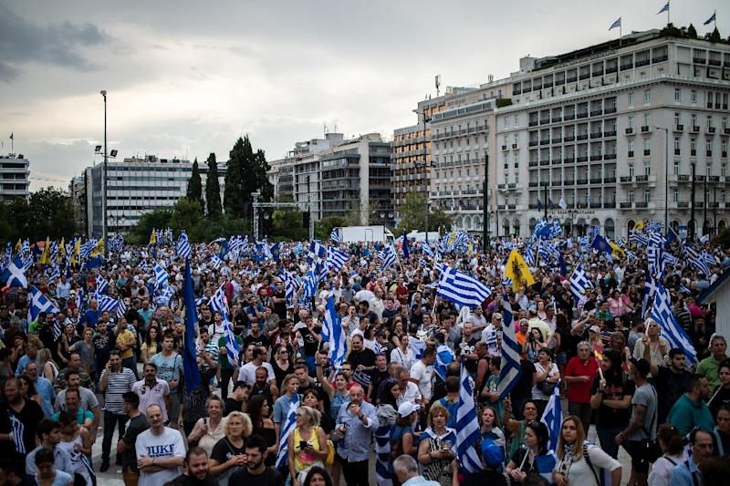 Greece-Macedonia Name Dispute Deal Fuels Protests