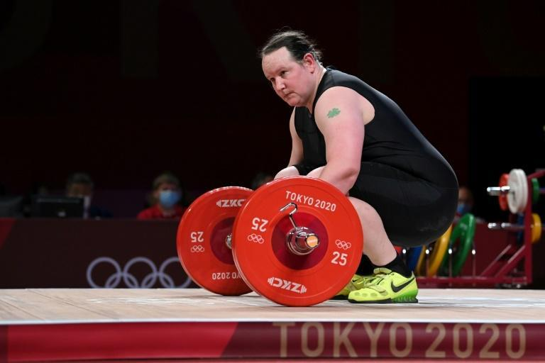 New Zealand's Laurel Hubbard made history as the first transgender woman to compete at an Olympics