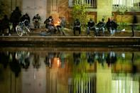 Ousmane is one of dozens of crack users who line the banks of the Canal Saint-Martin