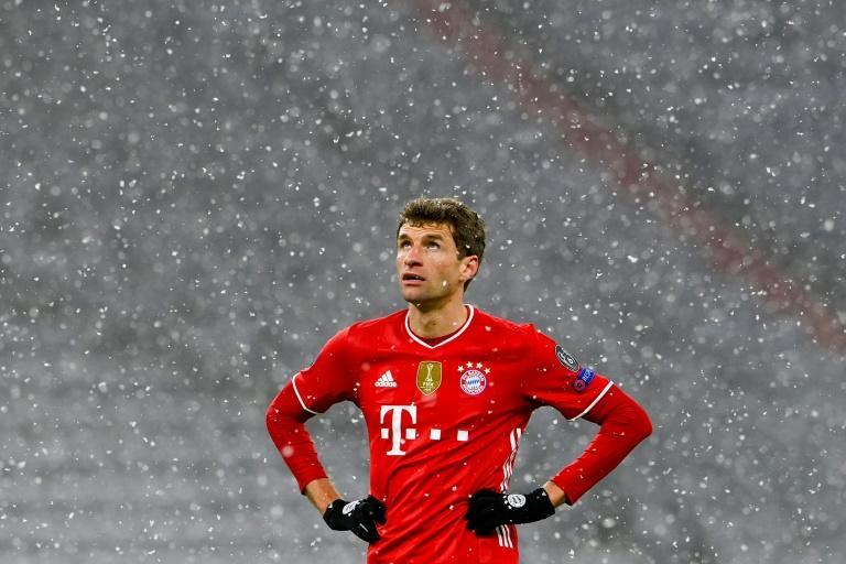"""Thomas Mueller says Bayern Munich lacked the """"killer instinct"""" in their 3-2 home defeat against Paris Saint-Germain in the Champions League"""