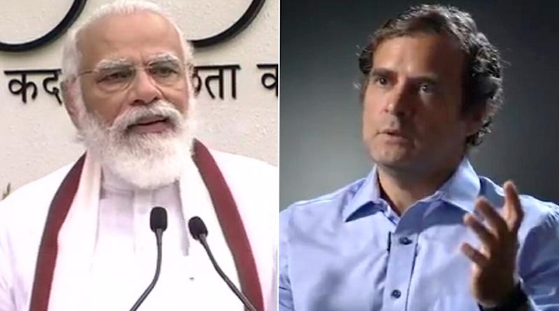 Rahul Gandhi Mocks PM Modi's Garbage-Free India Campaign, Asks Him to 'Come Clean on Chinese Intrusion' in Ladakh