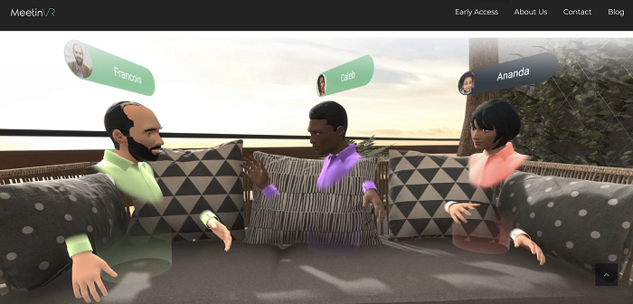 MeetinVR lets companies conduct meetings in VR-based collaboration settings