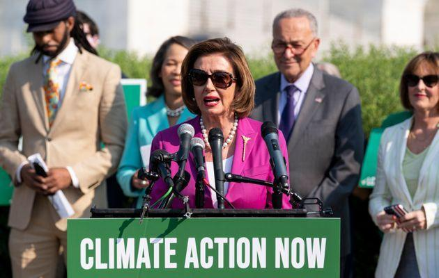 Speaker of the House Nancy Pelosi has not committed to passing the compromise bill. (Photo: Bill Clark via Getty Images)