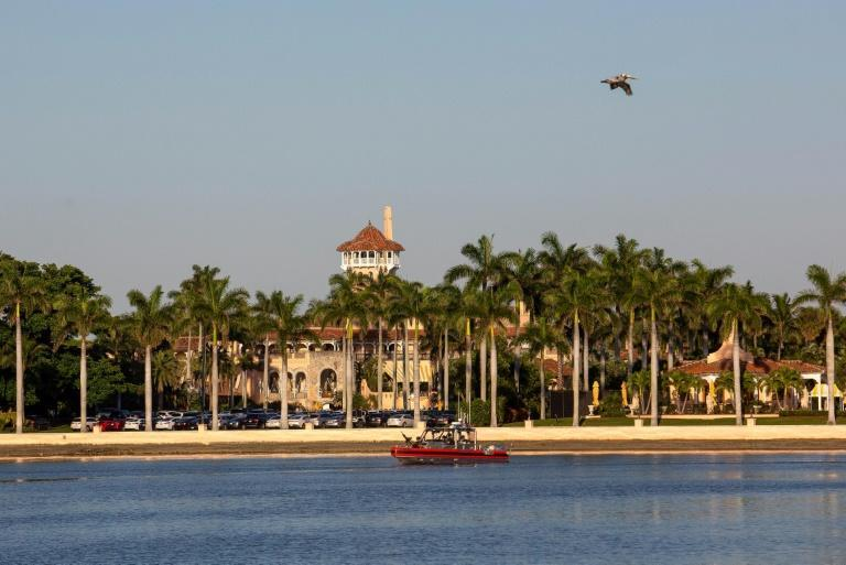Palm Beach residents have sent the city council a letter stating that US President Donald Trump's Mar-a-Lago estate, pictured in March 2019, is not zoned for full-time residency