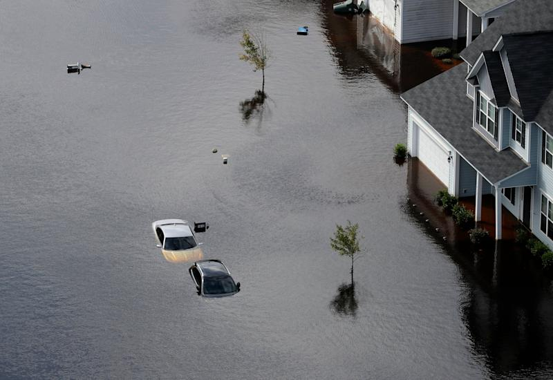 As bad as it is in the Carolinas, though, we should count ourselves lucky. It won't be nearly as bad as what happened in Puerto Rico last year, where thousands died: AP