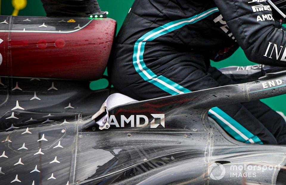 "Mercedes-AMG F1 W11 detail<span class=""copyright"">Andy Hone / Motorsport Images</span>"