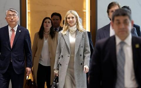 <span>Ms Trump will not meet any North Korean officials, the White House said</span> <span>Credit: Reuters </span>