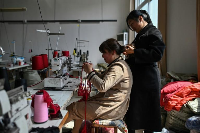 Guanyun's government says there are now more than 500 factories employing tens of thousands and churning out more than $300 million worth of lingerie annually