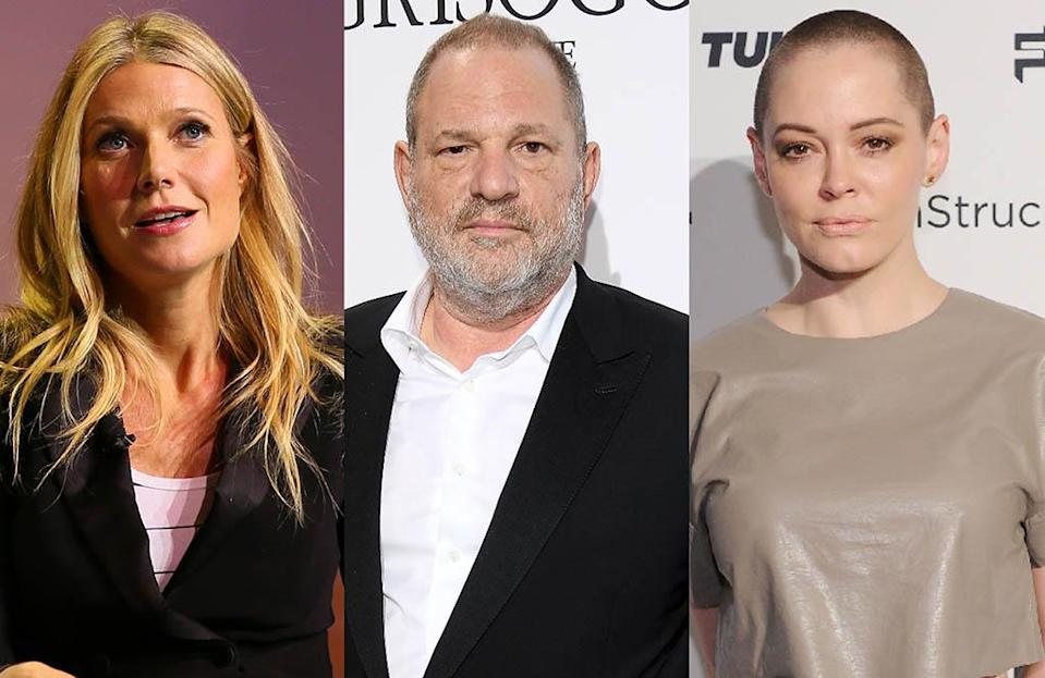 Gwyneth Paltrow and Rose McGowan are just two of the many women who have accused Harvey Weinstein of sexual harassment. (Photo: Getty Images)