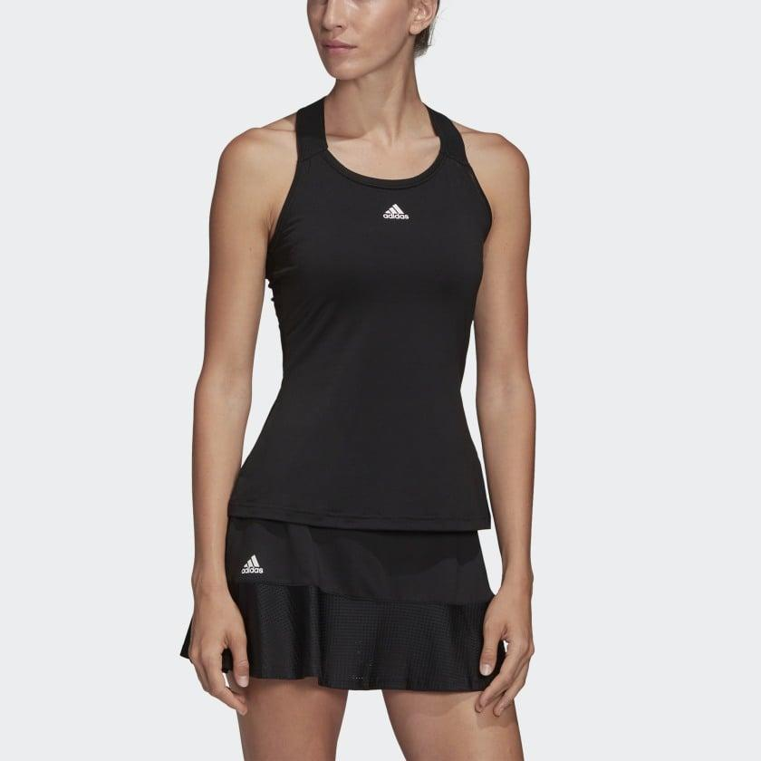 "<p>You can't go wrong with this <a href=""https://www.popsugar.com/buy/Adidas-Y-Tank-Top-585936?p_name=Adidas%20Y-Tank%20Top&retailer=adidas.com&pid=585936&price=34&evar1=fit%3Aus&evar9=47585636&evar98=https%3A%2F%2Fwww.popsugar.com%2Ffitness%2Fphoto-gallery%2F47585636%2Fimage%2F47585657%2FAdidas-Y-Tank-Top&list1=shopping%2Cworkout%20clothes%2Csale%2Csale%20shopping&prop13=api&pdata=1"" class=""link rapid-noclick-resp"" rel=""nofollow noopener"" target=""_blank"" data-ylk=""slk:Adidas Y-Tank Top"">Adidas Y-Tank Top</a> ($34, originally $48).</p>"