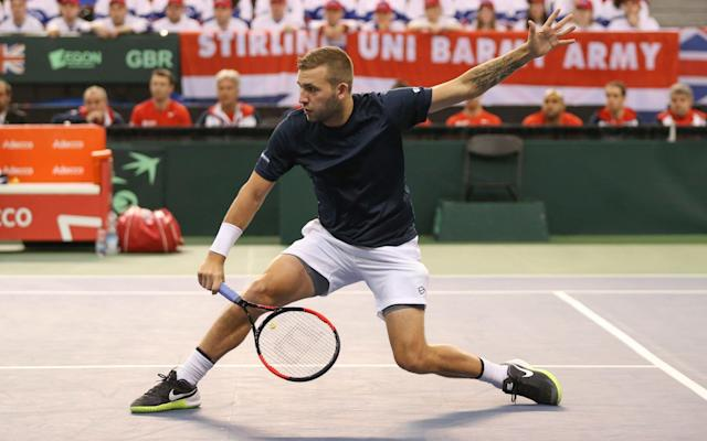 Dan Evans year-long ban for the recreational use of cocaine ends next week - Getty Images Sport