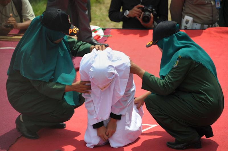 Indonesia's Aceh province began implementing sharia law after being granted special autonomy in 2001 (AFP Photo/Chaideer Mahyuddin)