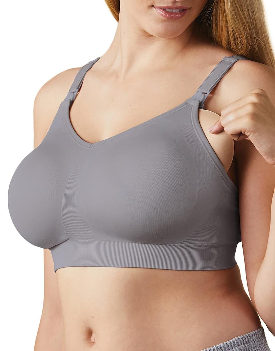 Save 30% on the Bravado Designs Body Silk Seamless Maternity/Nursing Bra. Image via Nordstrom.