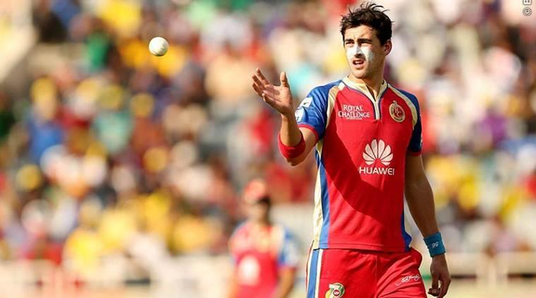 Mitchell Starc, Mitchell Starc Australia, Australia Mitchell Starc, Virat Kohli, Virat Kohli India, RCB, Starc bowling, Kohli injury, Kohli parody account, sports news, sports, cricket news, Cricket, Indian Express