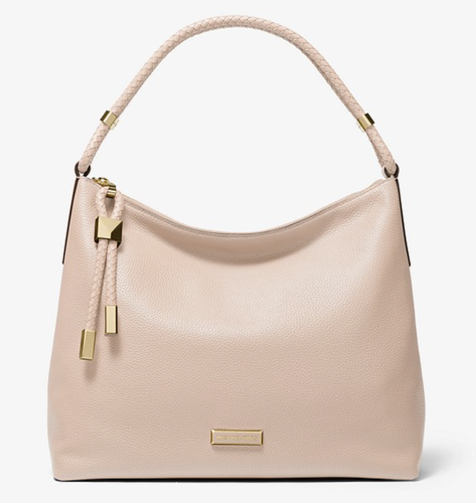 Lexington Large Pebbled Leather Shoulder Bag. (PHOTO: Michael Kors)