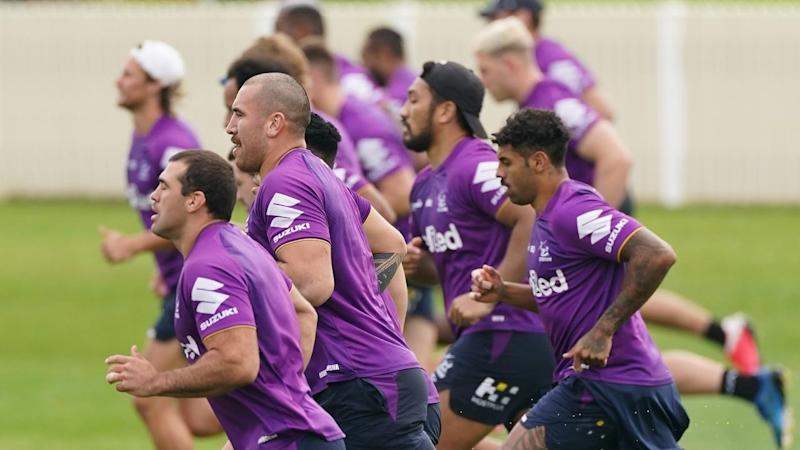 NRL STORM TRAINING