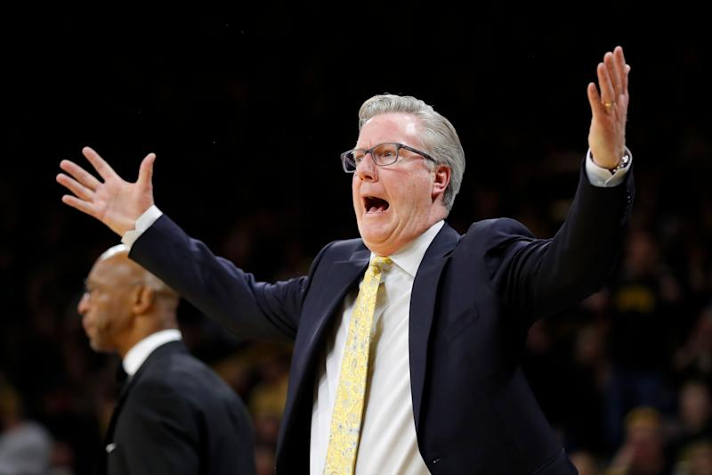 Iowa's Fran McCaffery suspended after conduct toward ref