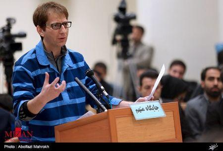 Iranian businessman Babak Zanjani appears during a court session in Tehran in this November 17, 2015 handout photo courtesy of Mizan Online News Agency.REUTERS/www.mizanonline.ir/Handout