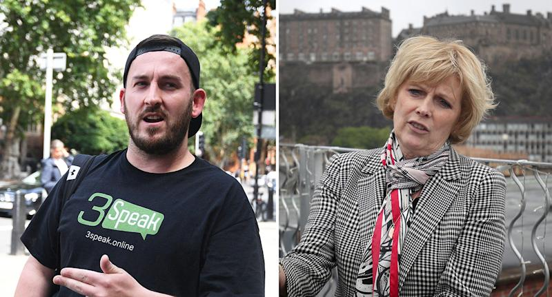 James Goddard harassed pro-Remain MP Anna Soubry outside the Houses of Parliament (PA Images)