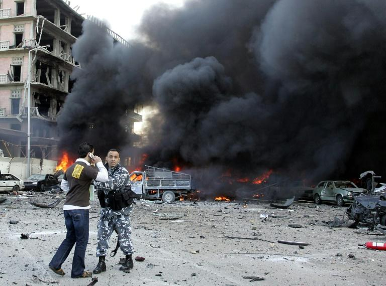 Former Lebanese premier Rafiq Hariri was killed by a huge bomb blast in Beirut on February 14, 2005