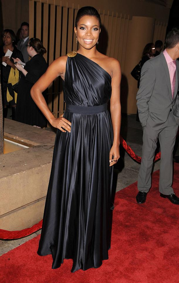 """<a href=""""http://movies.yahoo.com/movie/contributor/1800018551"""">Gabrielle Union</a> at the Los Angeles premiere of <a href=""""http://movies.yahoo.com/movie/1810003875/info"""">Cadillac Records</a> - 11/24/2008"""