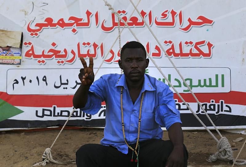 Darfuris are among the keenest of Sudan's protesters to see a full hand over of power by a ruling military council to a civilian government (AFP Photo/ASHRAF SHAZLY)