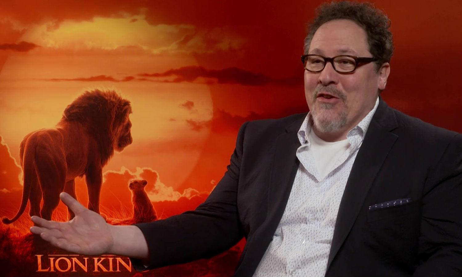 Jon Favreau explains why he only got James Earl Jones to reprise his role (Credit: Yahoo Movies UK)