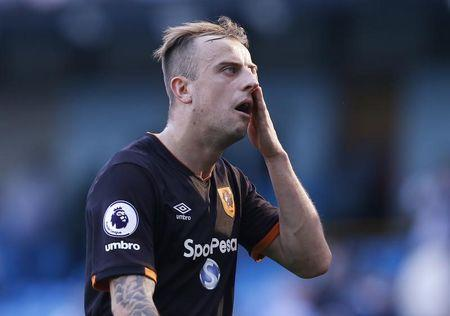 Britain Football Soccer - Manchester City v Hull City - Premier League - Etihad Stadium - 8/4/17 Hull City's Kamil Grosicki looks dejected after the match  Reuters / Andrew Yates Livepic