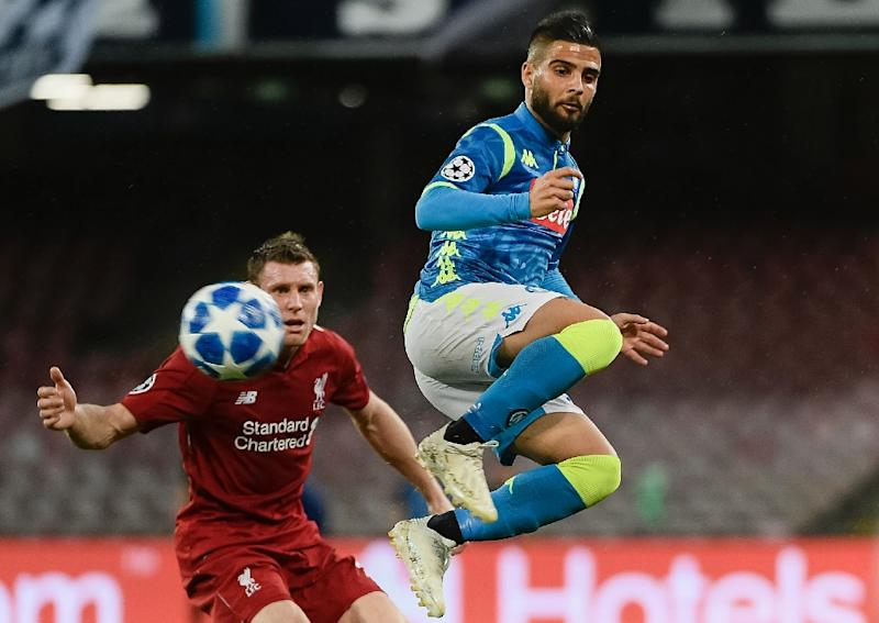 Image result for insigne vs liverpool