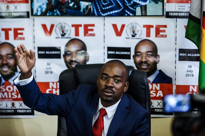 Zimbabwe's opposition Movement for Democratic Change has cited flaws in the roll among threats to the election's credibility. MDC leader Nelson Chamisa discussed the issue at a news conference on Tuesday  (MDC) party leader Nelson Chamisa holds a press conference at the MDC headquarters in Harare, on July 17, 2018, over the security of the ballot paper and credibility of the voters roll ahead of general elections on July 30.Chamisa said his party will write to the Southern African Development Community (SADC) to intervene to resolve the stalemate with the Zimbabwe Electoral Commission (ZEC)